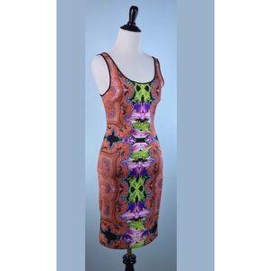 CLOVER CANYON scuba dress MEDIUM